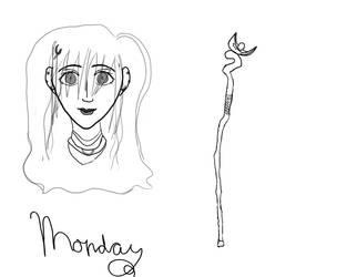 Monday Sheet by RyuLuna