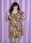 Auction 3: Leopard Dress by Hithorys