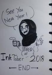 INKTOBER 2018 : END by RaHmADiTa2219