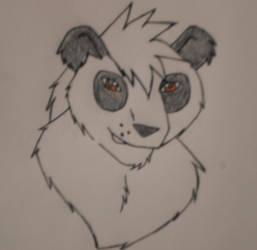 A Panda! by NikitaFang