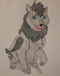 Senka, Ghoul Puppy by NikitaFang