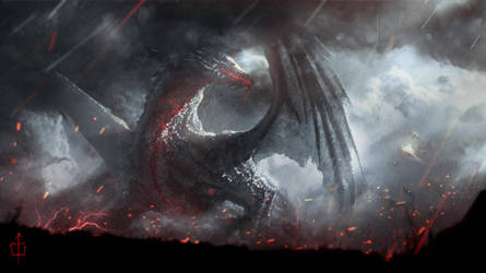 Ancalagon the Black by CKGoksoy
