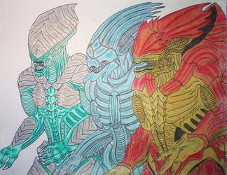 Mass Effect: New Xenomorphs by DBZ2010