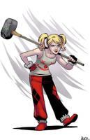 Harley Quinn Redesign by ricomics