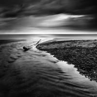 Where The River Meets The Sea by KrzysztofJedrzejak