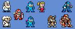 Enhanced Mega Man Sprites by Aburtos