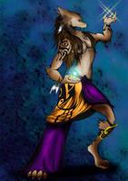 Worgen Female Druid by ColorfulRevenge