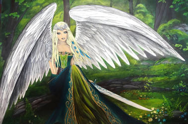 Wings of Dawn by krisbuzy