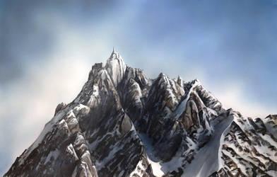 Aiguille du Midi by krisbuzy