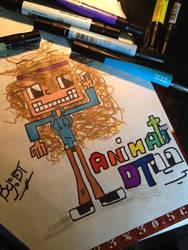 lol me in 8-bit! by animatordt