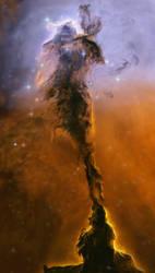 Eagle Nebula by NikolaDun
