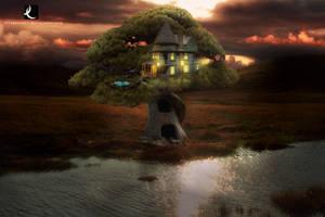 Tree House _ Casa na arvore by thiagocruzz