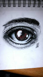 brown eyed beauty  by jessetravis35
