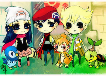 Pokemon Trainers by ProdigyBombay