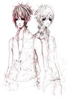 Sasuke Naruto Sketch by ProdigyBombay