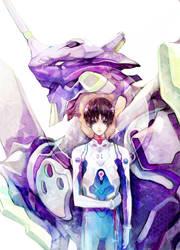 Shinji Ikari by ProdigyBombay