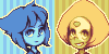 Lapis and Peridot icons by runmry