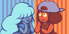 Ruby and Sapphire icons by runmry