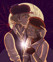 HM: Spark by VanillaSwimmer
