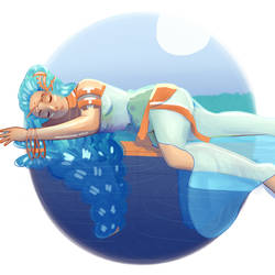 HM: Goddess by VanillaSwimmer