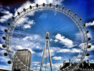 London Eye by anushkacz