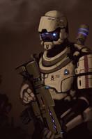 recon trooper by FonteArt