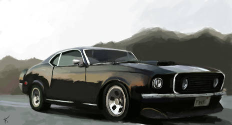 Ford Mustang Shelby 67 by FonteArt