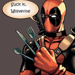 Suck it Wolverine by FonteArt