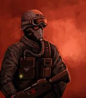 Steel Legion Imperial Guard by FonteArt