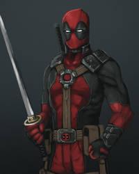 Deadpool ... again by FonteArt