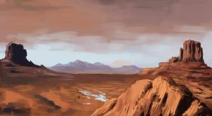 Landscape Practice by FonteArt