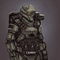 Future Soldier Power Armor by FonteArt