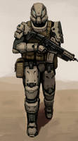 Spec Ops Commando by FonteArt