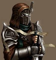 Hooded Knight by FonteArt