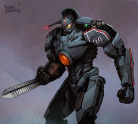 Gipsy Danger by FonteArt