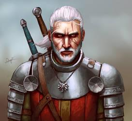 Geralt of Rivia by FonteArt