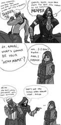 Overwatch Comic: Ana's hero name by FonteArt
