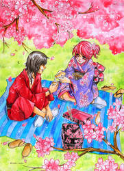Hanami by Archie-The-RedCat