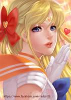 Sailor Venus by Archie-The-RedCat