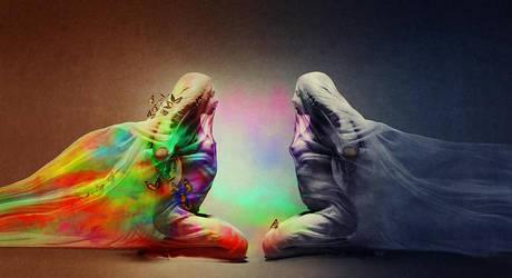 Two souls by m1rna
