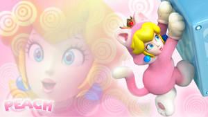 Super Mario 3D World - Peach Wallpaper by Edaine