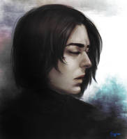 Severus Snape by GuppeeBlue