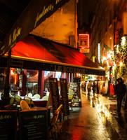 Rainy Night in Paris 2 by superflyninja