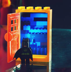 Batman and the Hidden Door by superflyninja