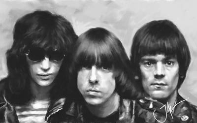 JOHNNY, JOEY, DEE DEE(things that dreams are of) by JALpix