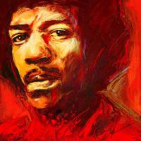 Hendrix by JALpix