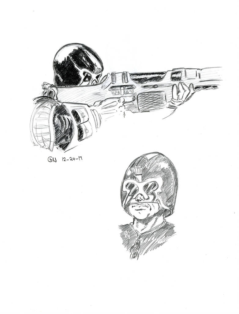 Judge Dredd by 7thOdd