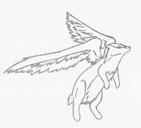 Badger Badger Badger-- Lineart by fleacollar999