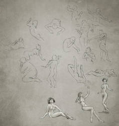 Daily Practice 01 21 2014, Figures by Eclectixx