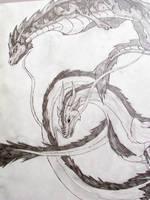 Dragons by fenderbender368